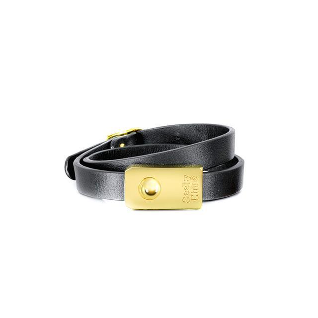 See By Chloe Jill Leather Wrap Bracelet