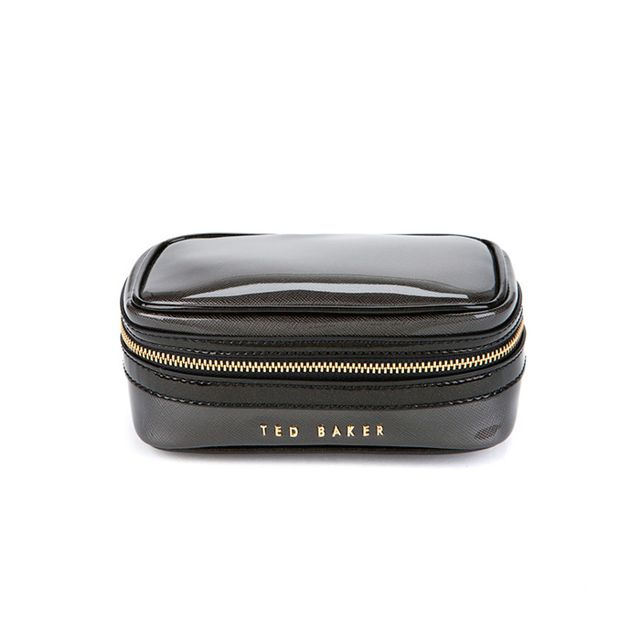 Ted Baker Arianne Crosshatch Jewellery Case