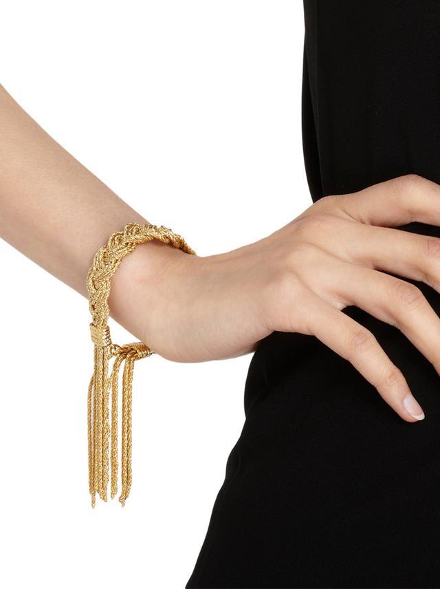 Aurelie Bidermann Gold Miki Bracelet
