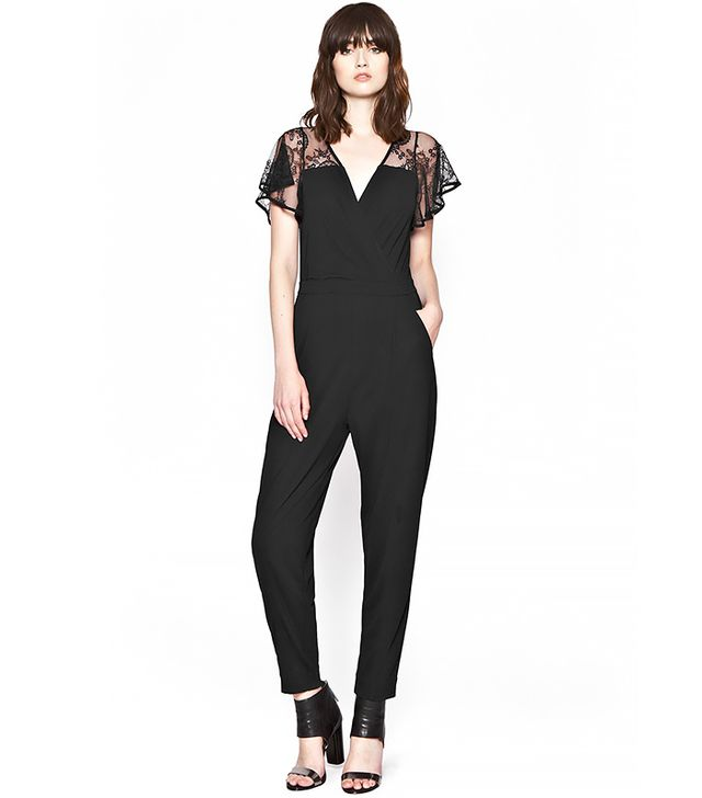 French Connection Liza Crepe Jumpsuit