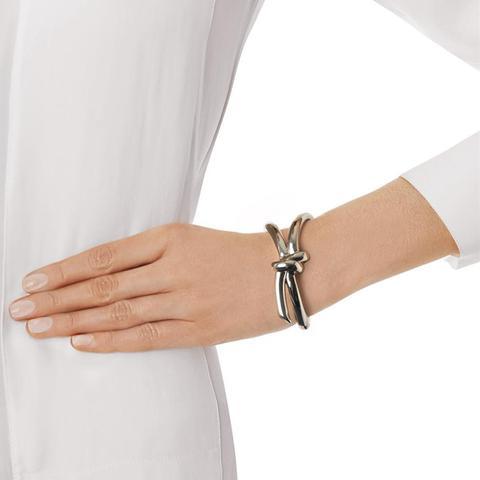 Asymmetric Bow Bracelet