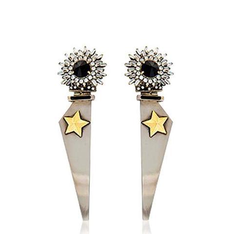 Full Metal Jewels Earrings