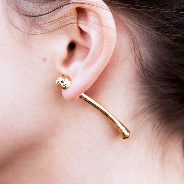 You'll Never Believe What These Earrings Are Made Of