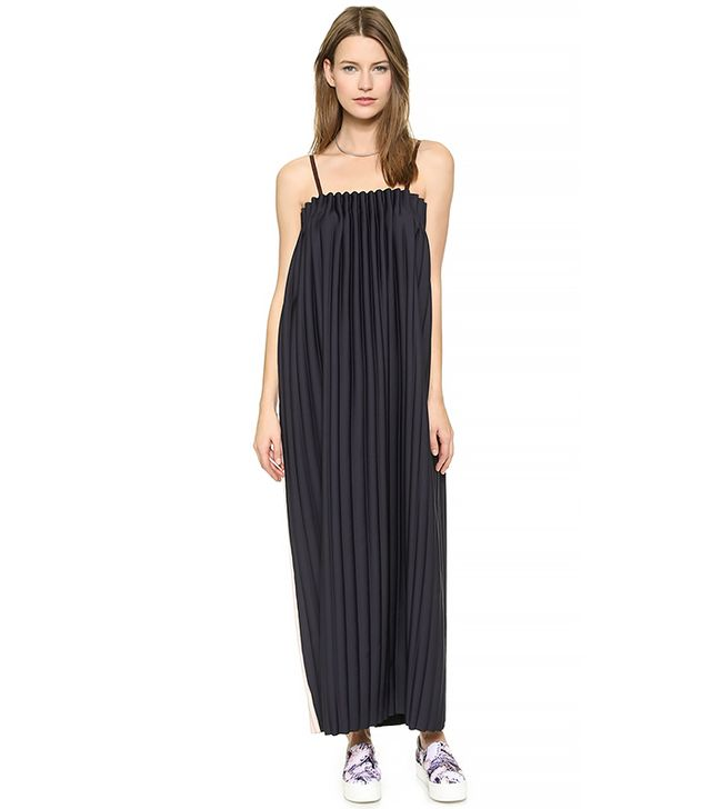 Opening Ceremony Lottle Pleated Maxi Dress