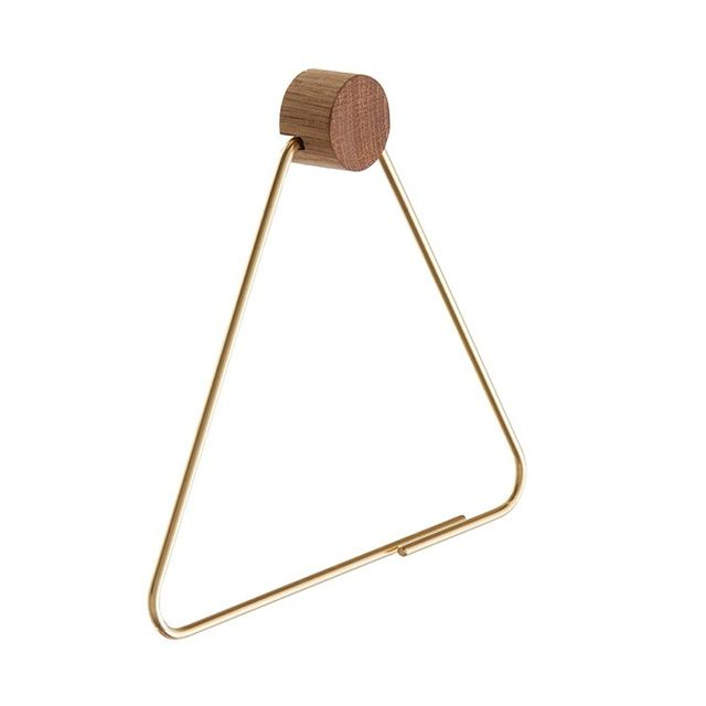Ferm Living Brass Toilet Paper Holder