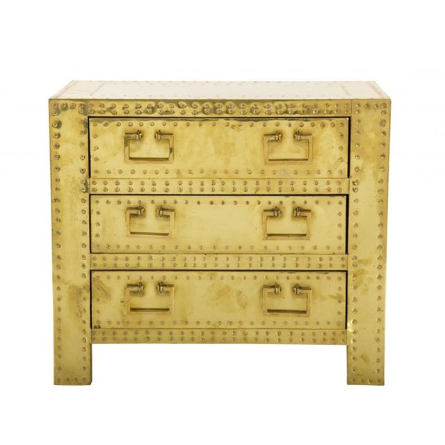 Jayson Home Vintage Brass Sarreid Chest