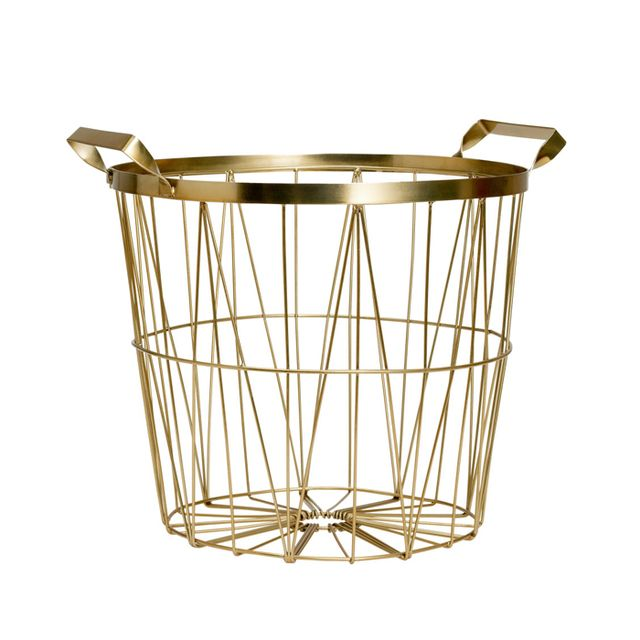 H&M Home Metal Basket