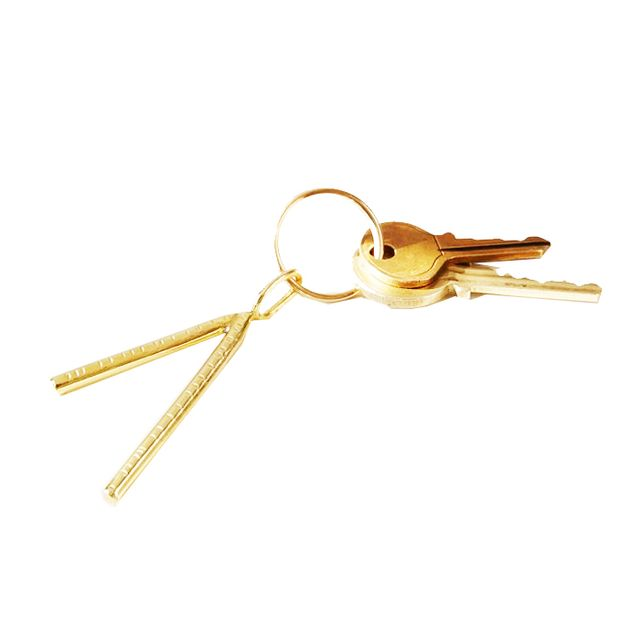 West Elm Another Feather Dart Keychain