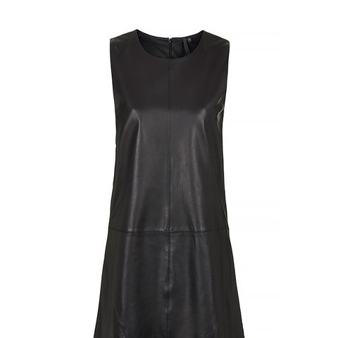 Leather Shift Dress