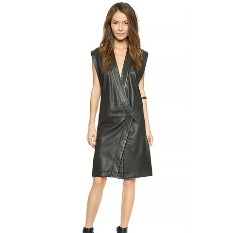 Leather Judogi Dress