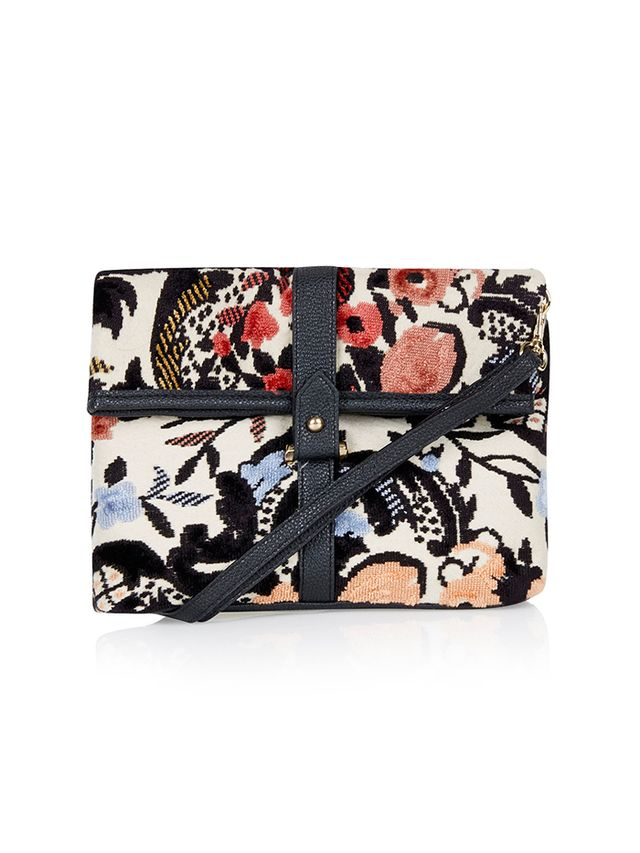 Topshop,Forever 21 Tapestry Crossbody Bag