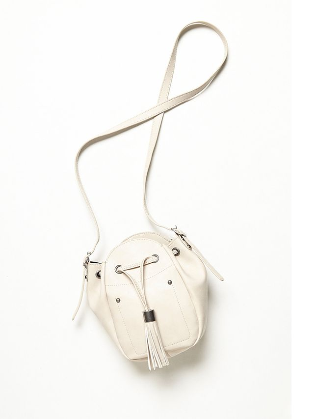 Free People,Forever 21 Gold Dust Crossbody