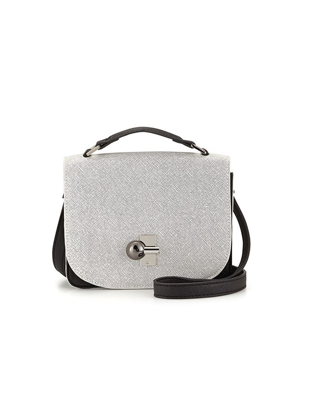 Danielle Nicole Colorblock Faux-Saffiano Crossbody Bag