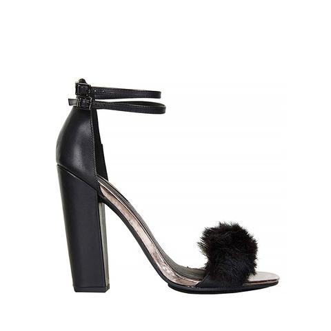 Rabbit Faux Fur Fluffy Sandals