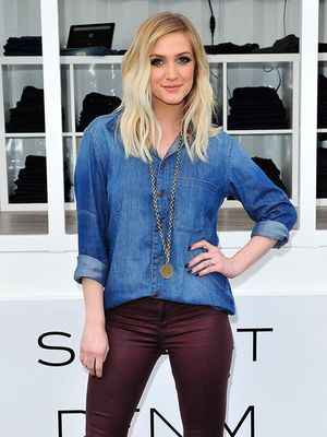 Denim Daze: Ashlee Simpson Gives Us Serious Outfit Envy in DL1961