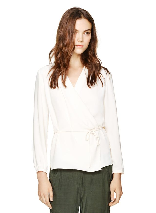 Wilfred for Aritzia Barthélémy Blouse