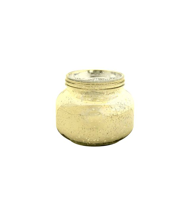 Target Medium Frosted Gold Mason Jar Candle Holders