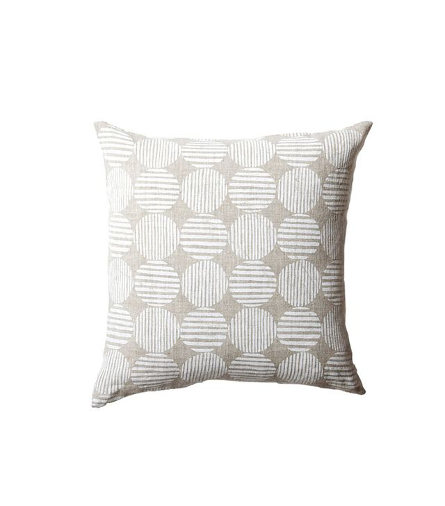 Rebecca Atwood Striped Circles Pillow