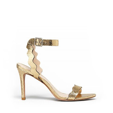 Amelia High Heel Ankle Strap Sandals