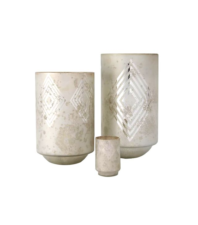 West Elm Frosted Deco Mercury Hurricanes