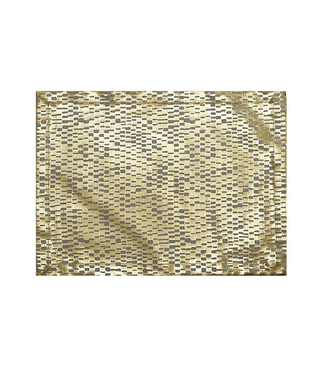 CB2 Gold Fences Placemat