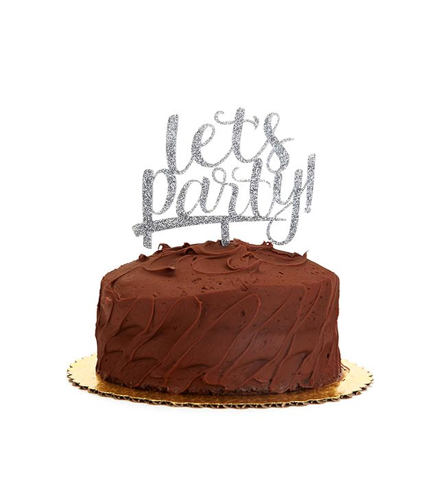 Alexis Mattox Design Let's Party Cake Topper