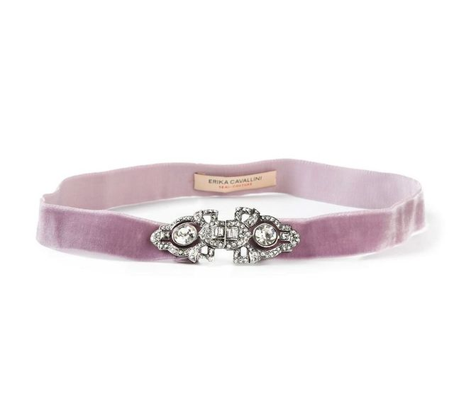 Erika Cavallini Semi Couture Embellished Belt