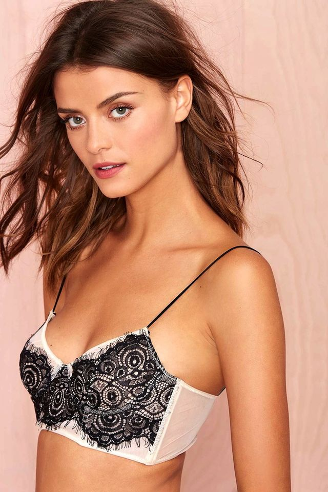 Nasty Gal Lace Is More Bustier Bra