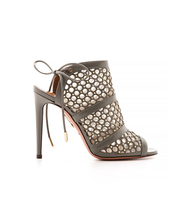 Aquazurra Blondie Studded Sandals