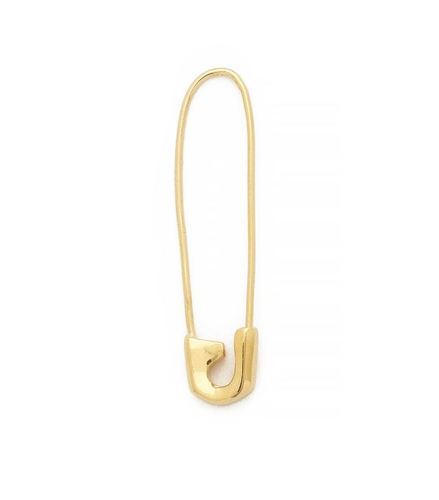 Jacquie Aiche JA Safety Pin Earring