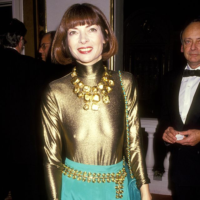 Anna Wintour's '90s Style Is TOTALLY Unrecognizable
