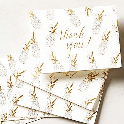 10 of The Chicest Thank You Notes