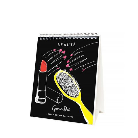 2015 Beaute Desk Calendar