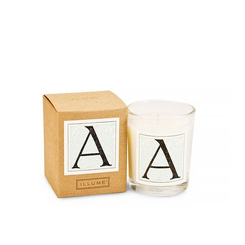 Monogram Votive Candle