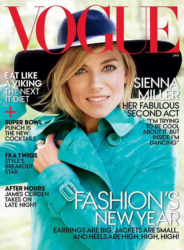 Sienna Miller's New Vogue Cover Is Seriously Stunning