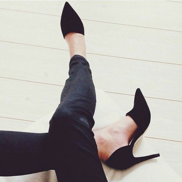 #TuesdayShoesday: 7 Black Heels That Will Never Go Out of Style