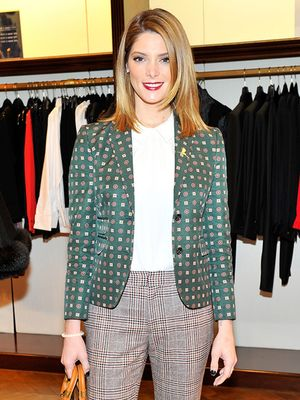 Ashley Greene Takes Style Cues From the Boys & We Love It