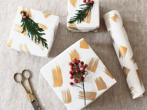 The Only DIY Gift Wrap You Need to Try This Year