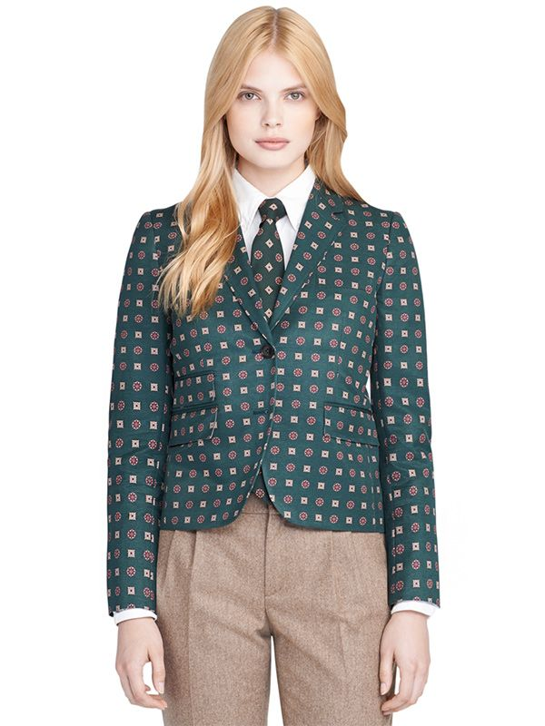 Brooks Brothers Foulard Little Boy Jacket