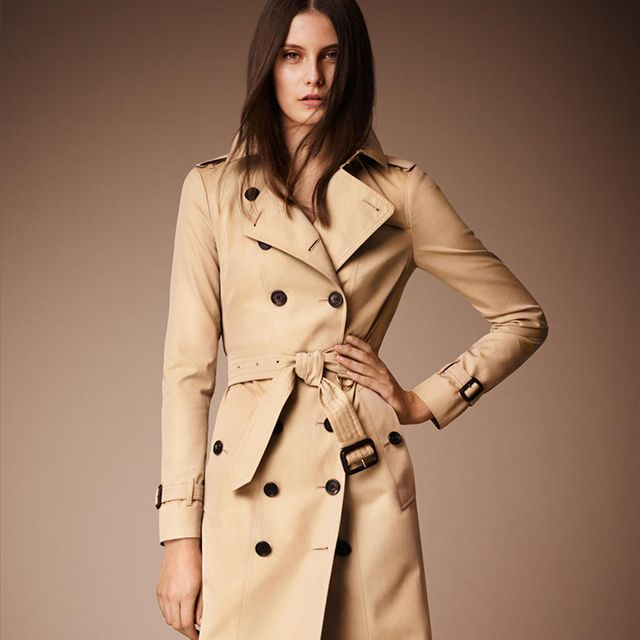 Burberry The Sandringham Long Heritage Trench Coat