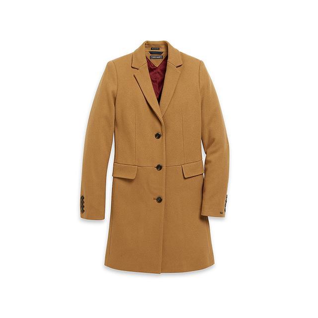 Tommy Hilfiger Classic Camel Coat