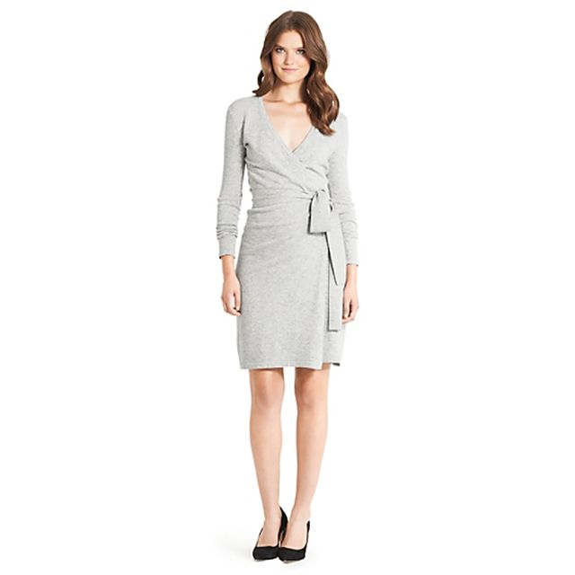 Diane von Furstenberg Linda Wool Wrap Dress