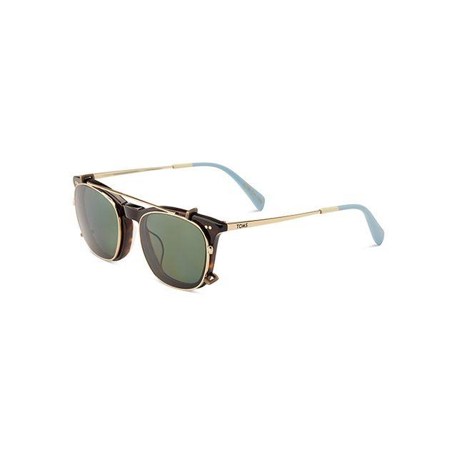 Toms Maxwell Tortoise Shiny Gold Polarised