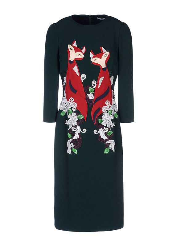 Dolce & Gabbana Fox Dress