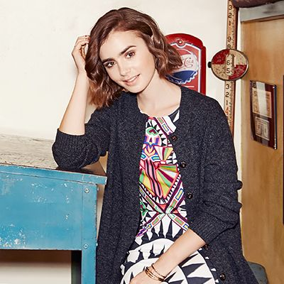 Lily Collins Takes Us Inside Her Mother's Cool LA Antiques Shop