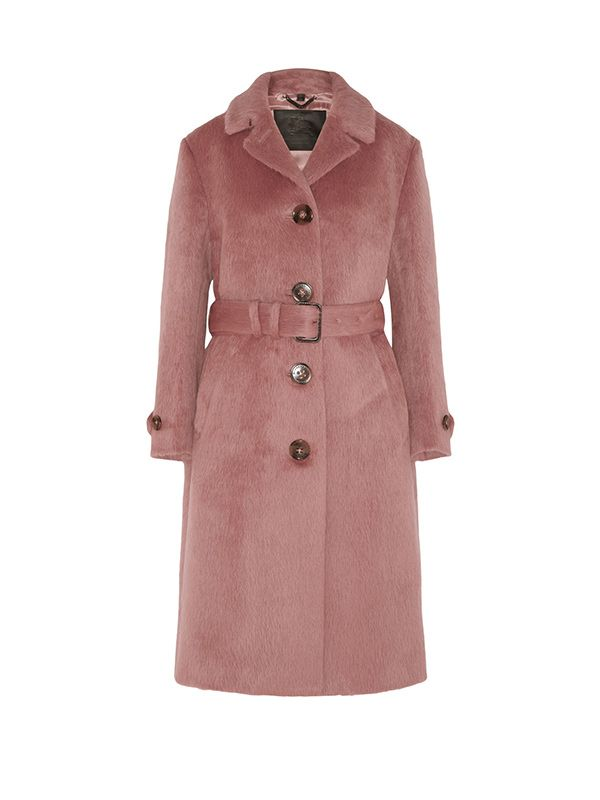 Burberry Prorsum Brushed Wool Coat