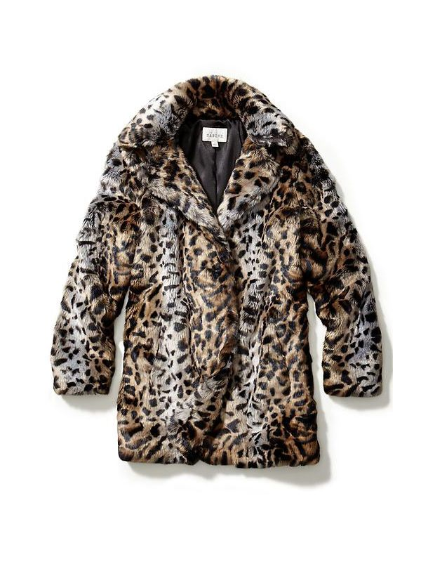 Sabine Faux Fur Animal Coat