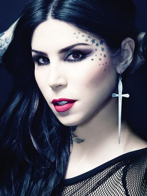 Exclusive: Kat Von D's Going-Out Beauty Routine