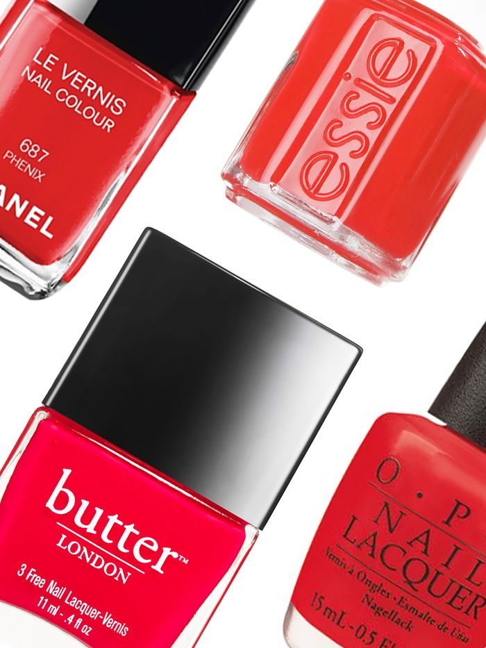 Editors\' Picks: Best Red Nail Polish | Byrdie