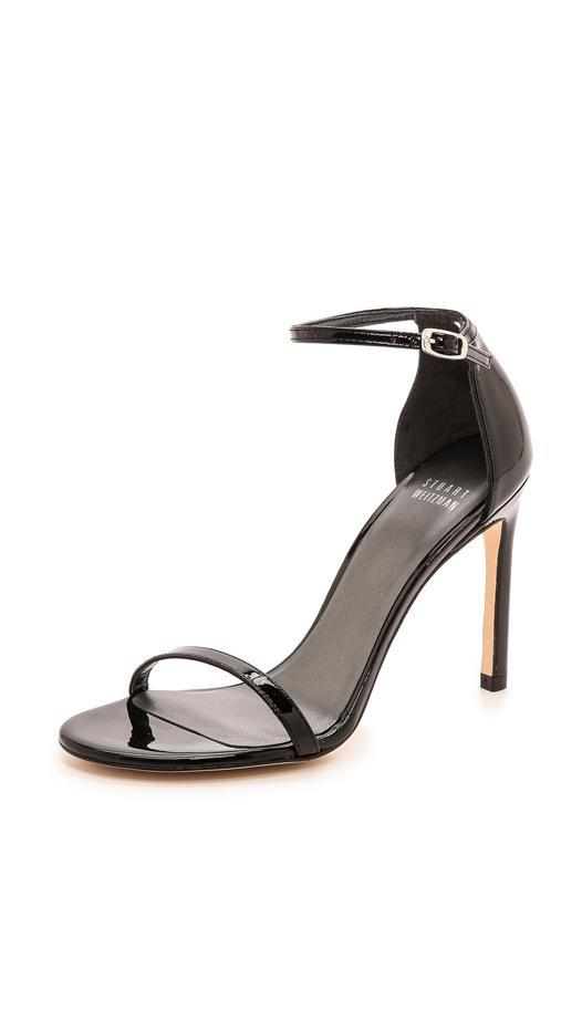 Stuart Weitzman Nudistsong Patent Sandals